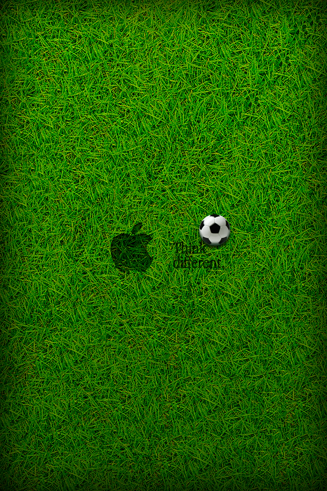 Grass Soccer Wallpaper